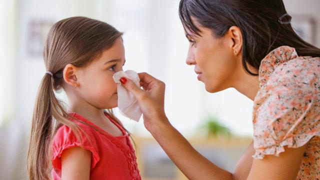 Kinder leiden besonders oft an Allergien