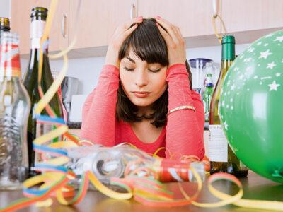 Feelgood's news – Dezember 2020 / Januar 2021 –Der Kater nach dem Alkoholkonsum