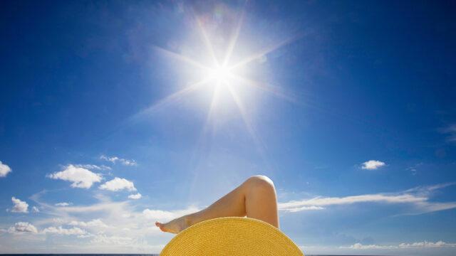 Die Schattenseiten des Sonnenbads