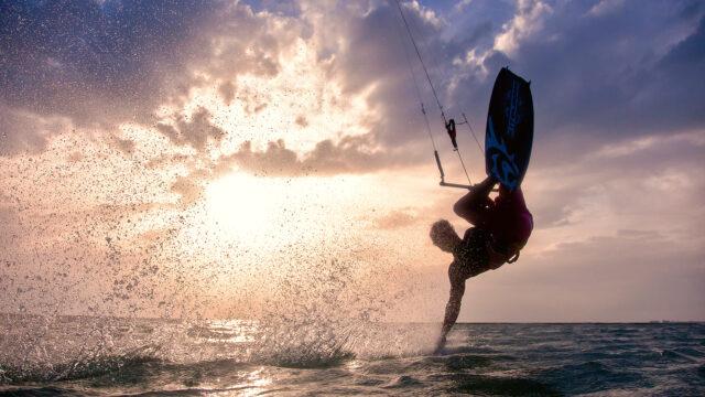 Erlebnis mit Wind und Wasser